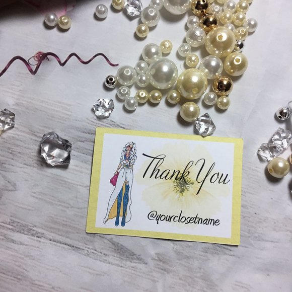 Unbranded Other - 100 poshmark Customer Thank YOU PACKAGING CARDS